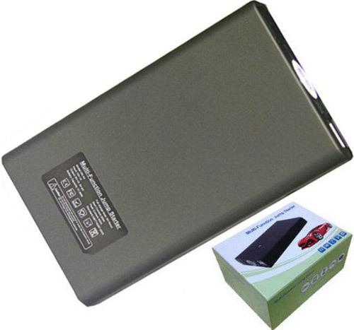 """Пускозарядное устройство """"JumpStarter A4"""" и его упаковочная коробка"""