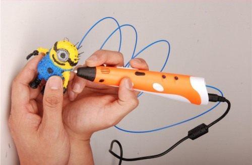 Специальный пластик, используемый в приборе, позволяет создавать практически любые фигуры