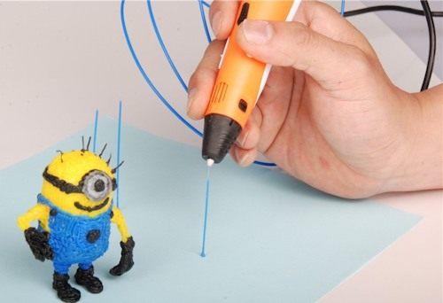 Создание объемных фигур при помощи 3D-ручки может стать настоящим увлечением