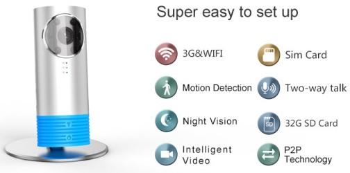 """Беспроводная камера """"3G CleverDog"""" отличается богатым функционалом"""