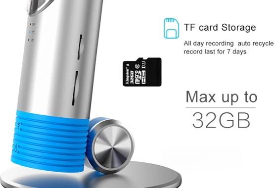 """На правом боку """"3G CleverDog"""" находятся слоты для SIM-карты и карты памяти типа microSD до 32 Гб"""