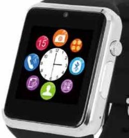 Сенсорный дисплей позволяет управлять функциями смарт-часов