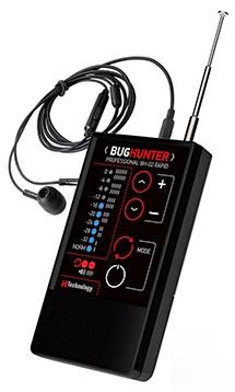 Подключайте к детектору комплектные наушники для скрытного контроля обстановки