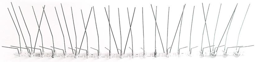 Противоприсадочные шипы от птиц SITITEK Барьер-Премиум 3R