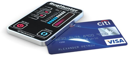 """BugHunter CR-1 по своей форме напоминает банковскую карту, за что и получил второе название — """"Карточка"""""""