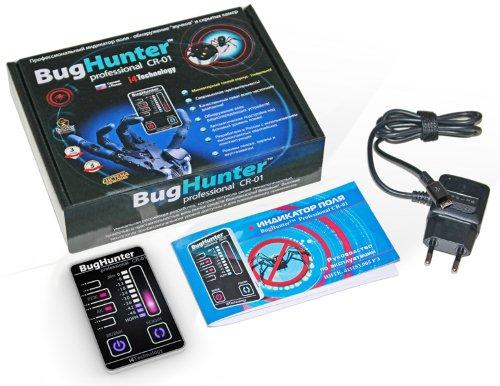 """Комплектация детектора жучков BugHunter CR-1 """"Карточка"""""""