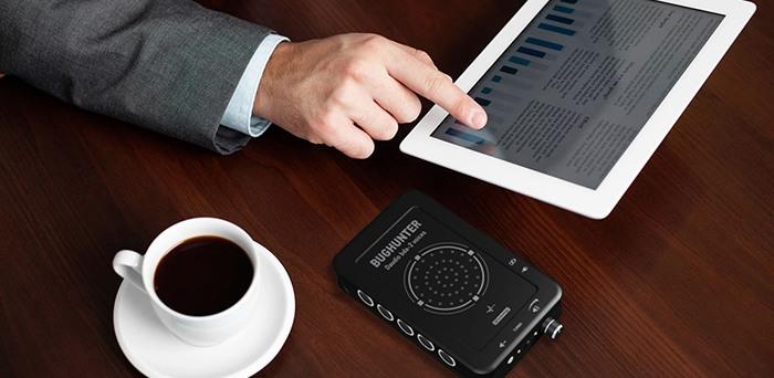 """Стильный внешний вид и продуманный дизайн подтверждают статус подавителя прослушки """"BugHunter DAudio bda-2 Voices"""", как устройства премиум-класса"""