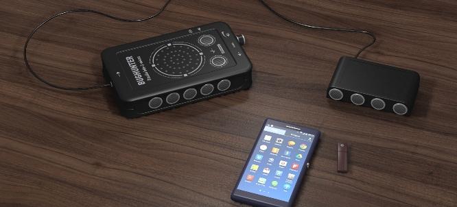 """Работая совместно с внешней ультразвуковой колонкой, подавитель """"BugHunter DAudio bda-3 Voices"""" обеспечивает еще более надежную защиту от незаконной звукозаписи"""