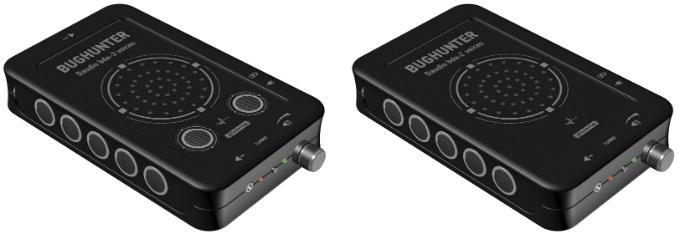 """На фото представлены новый подавитель """"BugHunter DAudio bda-3 Voices"""" (слева) и модель """"BugHunter DAudio bda-2 Voices"""" (справа)"""