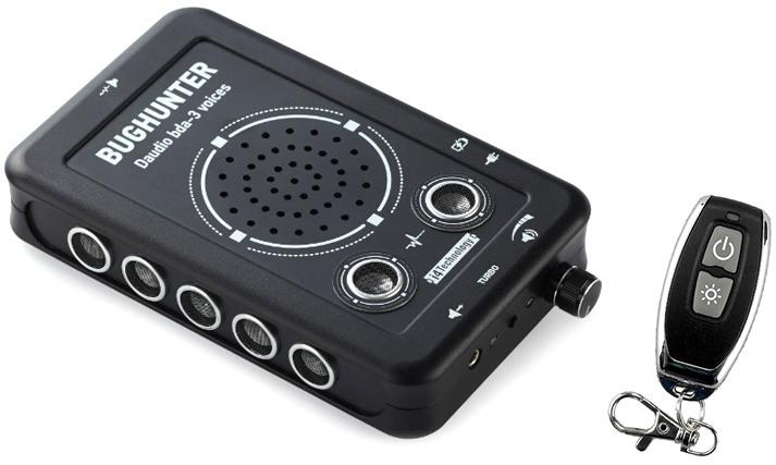 Подавитель микрофонов, подслушивающих устройств и диктофонов BugHunter DAudio bda-3 Voices с ПДУ