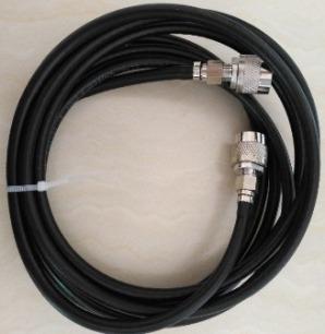 Кабеля, необходимые для подключения антенн, поставляются в комплекте с усилителем