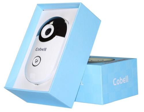 """Видеодомофон """"Cobell"""" в упаковке"""