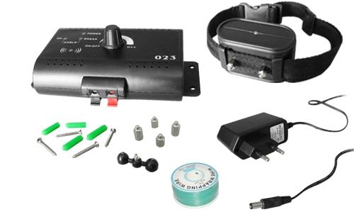 Комплект поставки беспроводного электронного забора