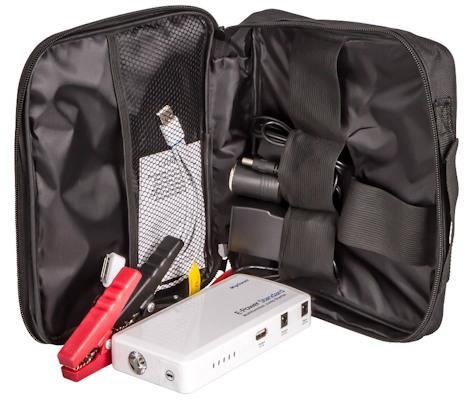 """""""E-POWER Standart 44,4 Вт/ч"""" с аксессуарами поставляется в компактной сумке"""