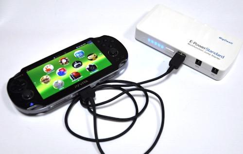 """Примеры использования прибора """"E-POWER Standart 44,4 Вт/ч"""" для питания игровой приставки"""