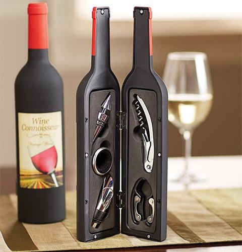 Посмотрите, как эффектно смотрится винный набор в интерьере