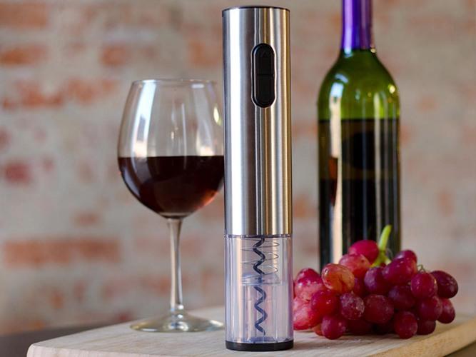 """Электрический штопор """"SITITEK E-Wine S"""" позволит вам откупорить винную бутылку за считанные секунды без лишних физических усилий"""