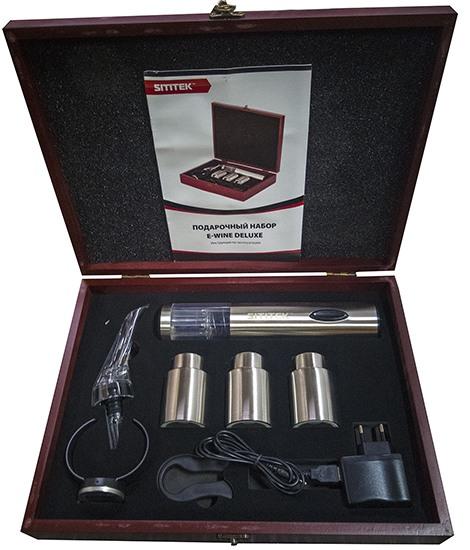 """""""SITITEK E-Wine Deluxe"""" — красивый и полезный подарочный набор для сомелье и ценителей вина"""
