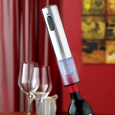 """Весь процесс откупоривания бутылки электроштопором """"SITITEK E-Wine S"""" занимает не больше 17 секунд"""