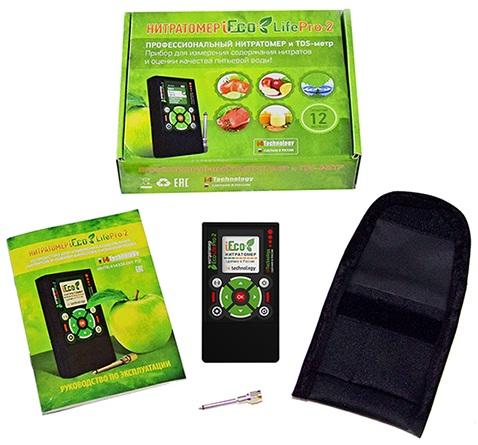 Прибор поставляется в красивой картонной коробке в комплекте со всем необходимым