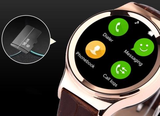 """Смарт-часы """"Ewik W6"""" поддерживают карты памяти объемом до 16 Гб"""