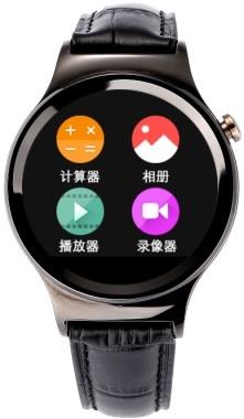 """Стильные смарт-часы """"Ewik W6"""" имеют круглый дисплей"""