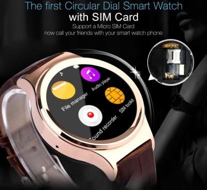 Смарт-часы Ewik W6 имеют встроенный GSM-модуль и могут работать как отдельный телефон