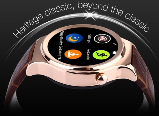 """Смарт-часы """"Ewik W6"""" отличаются элегантным дизайном"""