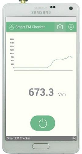 """Для проведения измерений детектором ЭМИ """"FEC-001"""" следует установить приложение"""