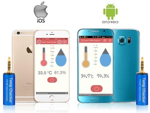 Термометр FST-001 поддерживается как устройствами на Android, так и на iOS
