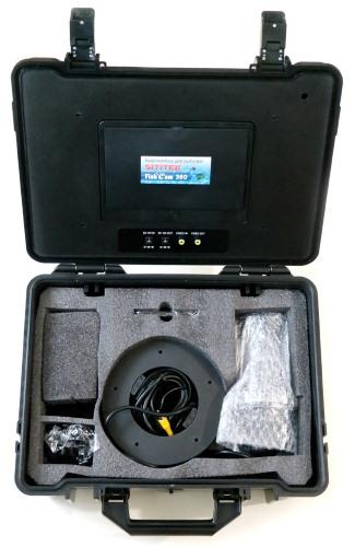 """Комплектация видеокамеры для рыбалки """"FishCam-360"""""""