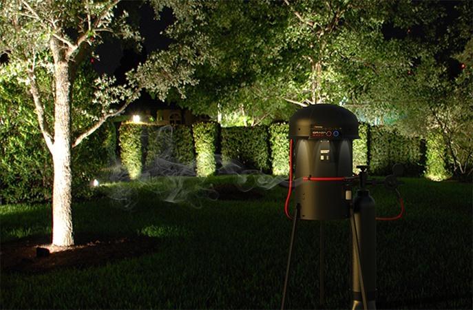 Выделяемый прибором углекислый газ привлекает комаров с большого расстояния