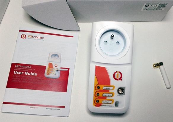 Комплектация GSM розетки