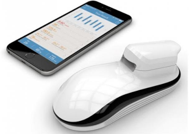 Это очень компактное устройство, сопоставимое по своим размерам с габаритами сотового телефона