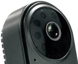 """Качественный HD-видеосенсор камеры  """"GosCam U5823C"""" окружен светодиодами системы ночного видения"""