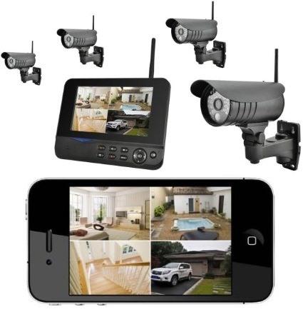 Изображение с видеокамер можно просматривать на смартфоне