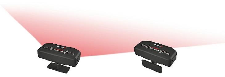 Специальный кронштейн позволяет легко закрепить прибор на любой горизонтальной или вертикальной поверхности под определенным углом