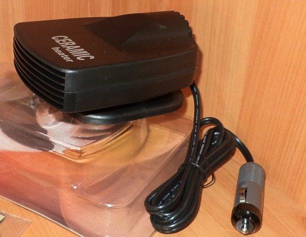 """Тепловентилятор 12В """"HBA 31T"""" (150Вт) — компактный и доступный источник дополнительного обогрева салона автомобиля"""