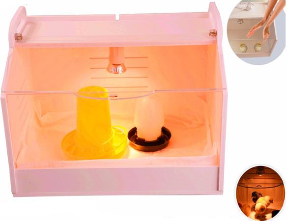 """Автоматический брудер """"HD 80W"""" — компактное решение для выращивания небольшого количества цыплят в бытовых условиях"""