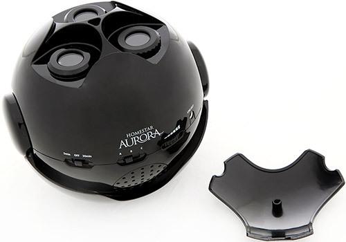 Перед началом эксплуатации не забудьте снять с объективов планетария защитную крышку