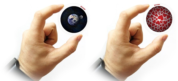 Вы можете докупать к планетарию различные дополнительные диски SITITEK с произвольными изображениями (нажмите на фото для увеличения)