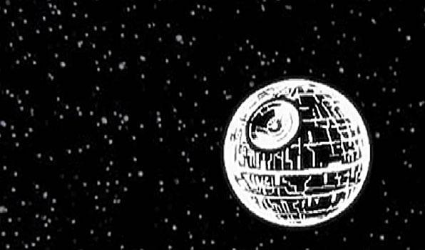 В дополнение к усыпанному звездами ночному небосводу, данный планетарий проецирует изображение загадочной космической станции