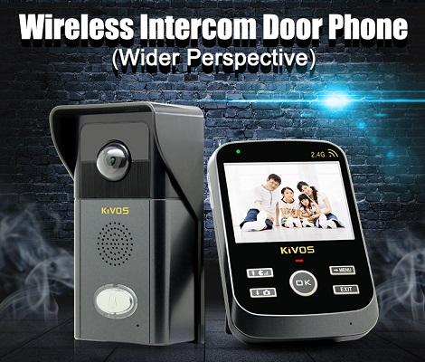 KIVOS 303 — доступный беспроводной видеодомофон, который отлично справляется со всеми основными функциями