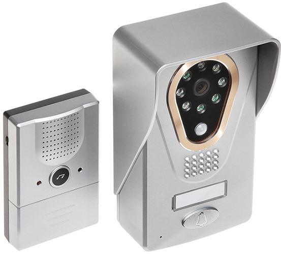 При подключении электрозамка данное устройство из простого видеодомофона превращается  в полноценную систему дистанционного управления входной дверью