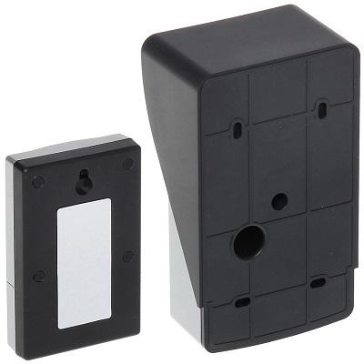 Вид на оба блока видеодомофона KIVOS 400 с обратной стороны (нажмите на фото для увеличения)