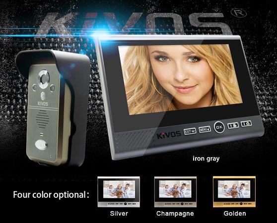 Доступные варианты цветового оформления беспроводного видеодомофона KIVOS 700 (пожалуйста, уточняйте наличие конкретного цвета при оформлении заказа)