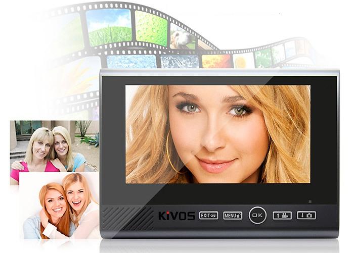 Функция фото- и видеозаписи позволит вам сохранить на память моменты прихода дорогих друзей или, наоборот, запечатлеть визиты незваных гостей