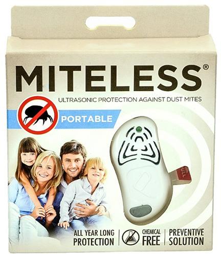 """Вы получите ультразвуковой отпугиватель """"MiteLess"""" в компактной блистерной упаковке"""