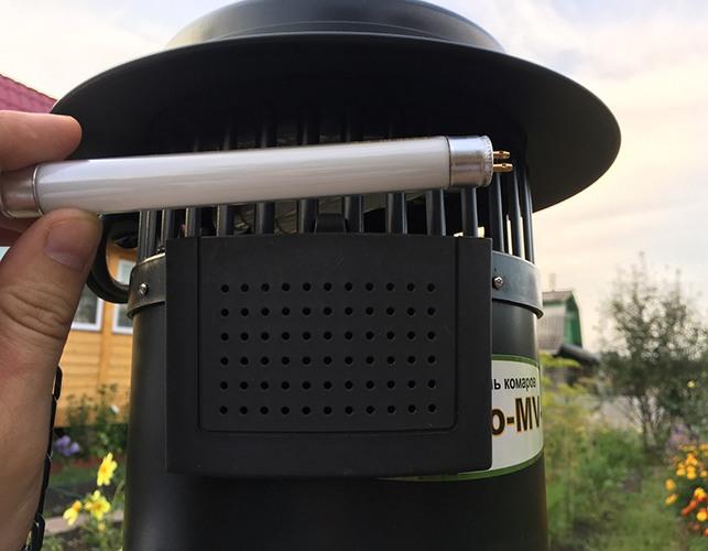 Заменить отработавшую УФ-лампу новой не составит труда