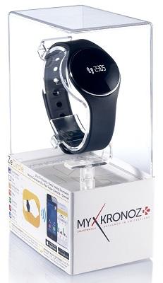 Смарт-часы MyKronoz ZeCircle поставляются в фирменной прозрачной коробке, которая может выполнять функцию подарочной упаковки (нажмите на фото для увеличения)